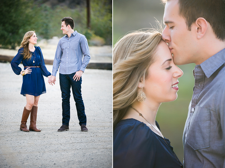An Engagement session at Mentryville in Santa Clarita