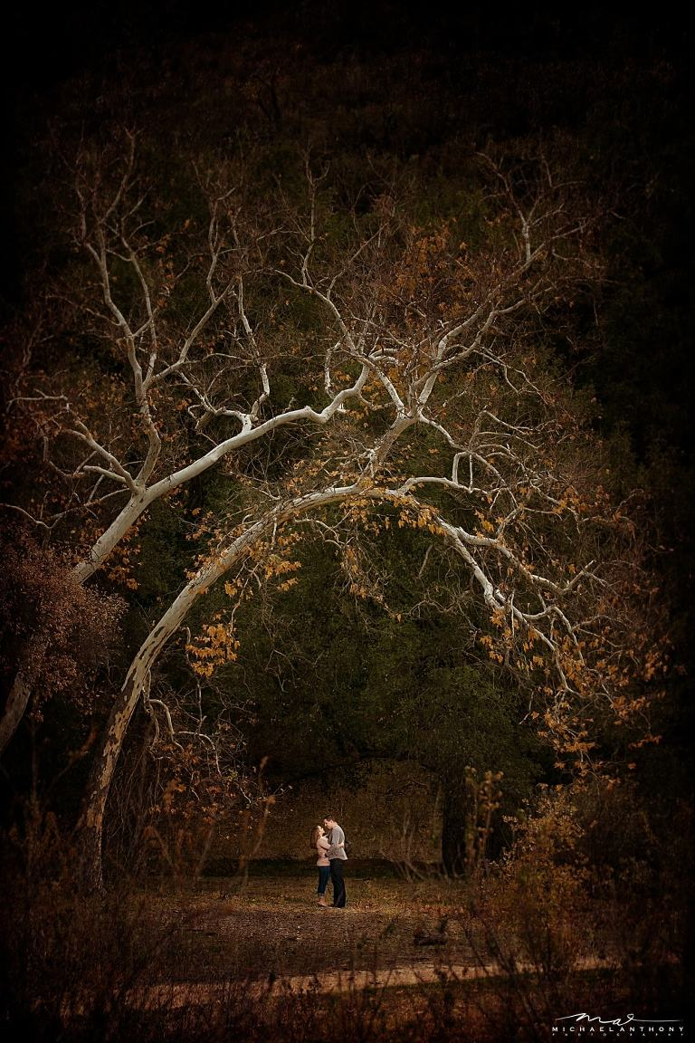 A Colorful Fall Engagement Session at Placerita Canyon | Kelly and John | LA Wedding Photographers