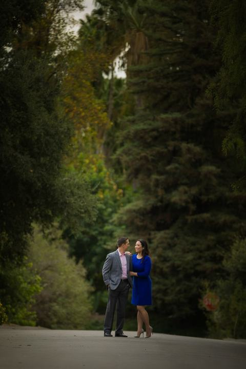 LA Arboretum Engagement Session | Los Angeles Wedding Photographers | Nadene and Paden