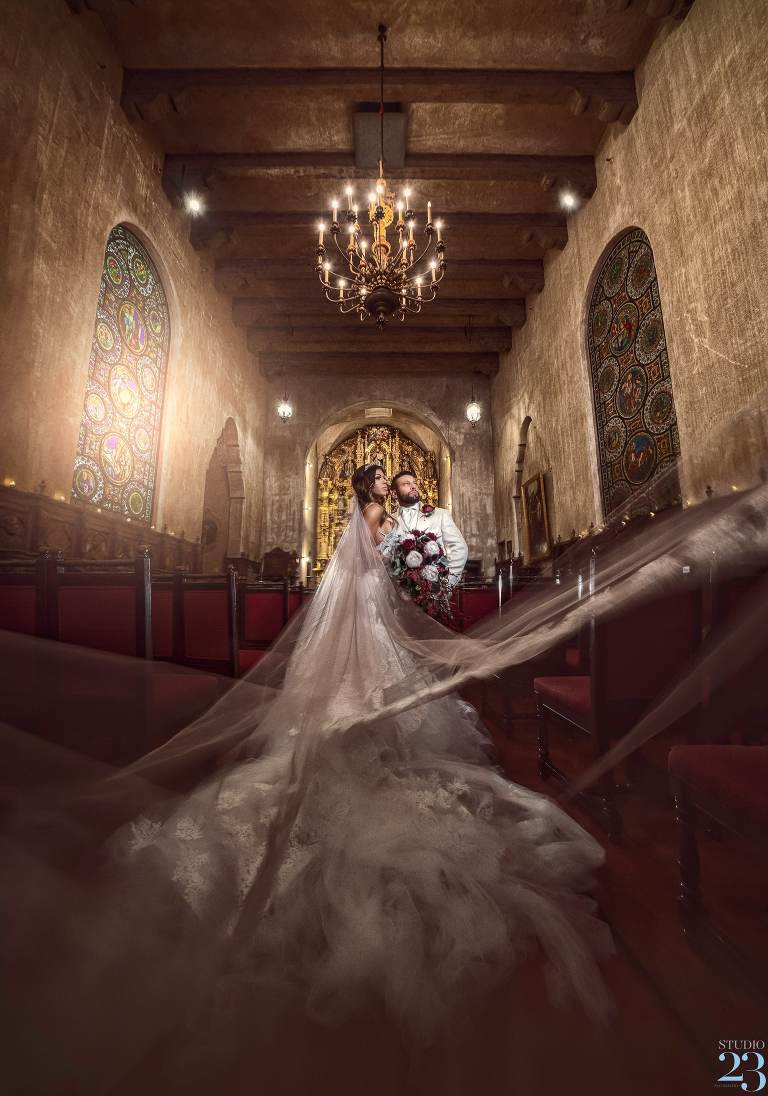 Riverside Mission Inn Hotel Wedding | Bryanna and Pete
